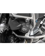 """Headlight protector for original BMW LED """"Nano"""" headlight, Set, black (08/2017-) *OFFROAD USE ONLY*"""