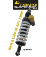 Touratech Suspension *rear* shock absorber for BMW R1200GS ADV (2006-2013) type *Level 2*