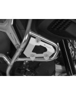 Guard for original BMW R1200GS Adventure from 2014, silver anodized