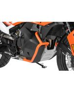 Tank crash bar stainless steel, orange for KTM 790 Adventure/ 790 Adventure R