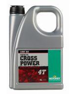 Motorex oil - Cross Power 4T 10W/ 60 - 4 Ltr.