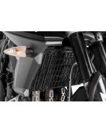 Radiator guard, black anodized, for Triumph Tiger 800/800XC from 2015