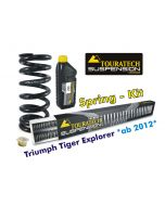 Hyperpro progressive replacement springs for fork and shock absorber, Triumph Tiger Explorer *from 2012*