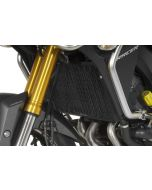 Radiator guard for Yamaha MT-09 Tracer, aluminium, black