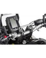 GPS handlebar bracket adapter with screws for handlebar risers 20 mm Yamaha Tenere 700, for navigation systems