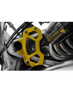 Hard Part steering stop for the BMW R1250GS/ R1200GS (LC), yellow