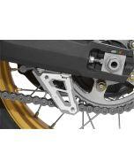 Chain guard fin, anodized aluminum, for Honda CRF 1000L Africa Twin/ CRF1000L Adventure Sports