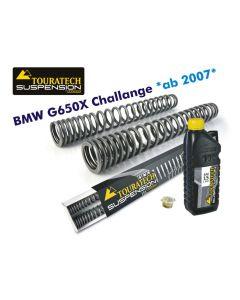 Hyperpro progressive replacement fork springs, BMW G650X Challenge