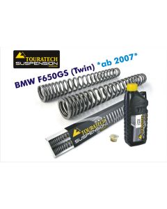Progressive replacement fork springs, BMW F650GS (Twin) from 2008-2012