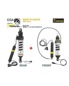 Touratech Suspension Plug & Travel-ESA SET for BMW R1200GS Model 2007-2010
