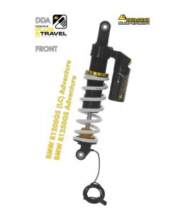 "Touratech Suspension ""front"" shock absorber for BMW R1200GS Adventure (LC) /R1250GS Adventure DDA/Plug & Travel from 2014"
