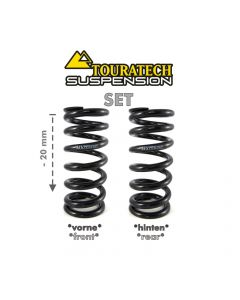 """Replacement springs Height lowering kit -20mm, for BMW R1200GS(LC) 2013-2016 """"Original shocks with BMW Dynamic ESA"""""""
