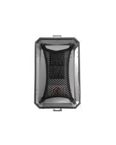 Luggage net M, for pannier lids, original aluminum case BMW R1250GS/ R1250GS ADV/ R1200GS ADV/ F850GS/ F850GS ADV/ F800GS/ F800GS ADV