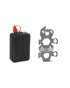 ZEGA Pro2 accessory holder set, canister holder incl. oil canister Touratech 2 litres