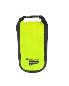 Additional bag High Visibility, size L, 3,5 litres, yellow/black, by Touratech Waterproof made by ORTLIEB