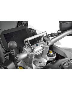 GPS Handlebar Bracket Adapter for handlebar riser 35 mm BMW F850GS / F850GS Adventure GPS Bracket Adapter/Bracket for Navigation Systems