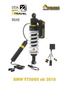 "Touratech Suspension ""rear"" shock absorber for BMW F750GS from 2018 DDA / Plug & Travel"