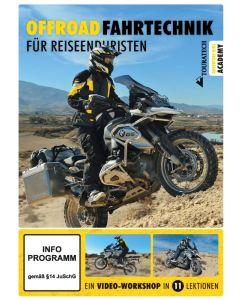 """Video DVD """"Offroad-Fahrtechnik für Reiseenduristen"""""""