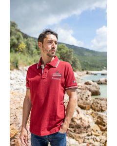 "Polo Shirt ""Adventure Red"" unisex"