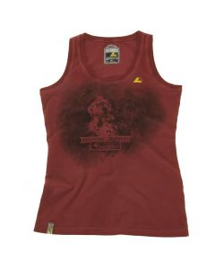 "Tank top ""Retro"", women, red"
