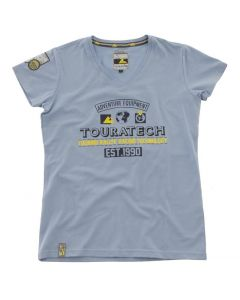 "T-shirt ""Adventure Equipment"", women"