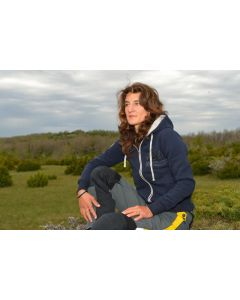 "Sweat jacket ""Adventure Equipment"", women"