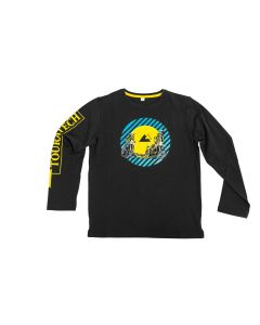 "Longsleeve ""Moto Rider"" children, black"