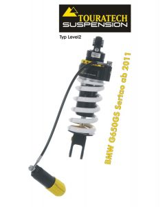 Touratech Suspension shock absorber for BMW G650GS Sertao from 2011 type Level2/ExploreHP