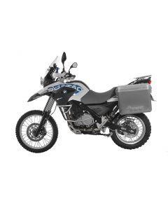 ZEGA Mundo aluminium pannier system for BMW F650GS / F650GS Dakar / G650GS / G650GS Sertao