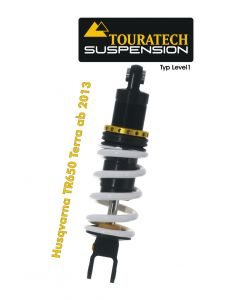 Touratech Suspension shock absorber for Husqvarna TR650 Terra from 2013 type Level1/Explore