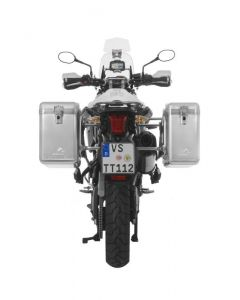 ZEGA Mundo aluminium pannier system for Triumph Tiger 800/ Tiger 800XC/ 800XCx