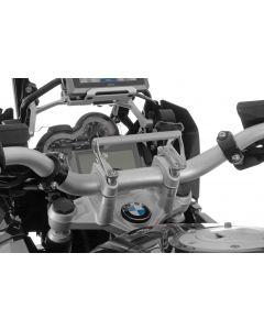 GPS handlebar bracket adapter BMW R1250GS/ R1250GS Adventure/ R1200GS from 2013/ R1200GS Adventure from 2014 GPS bracket adapter Bracket for navigation systems
